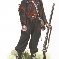 Private of the 33rd New Jersey Regiment